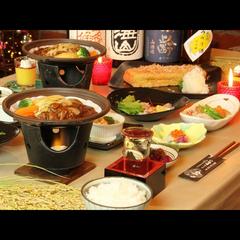 【スタンダード】和食ベースの創作料理とオーナーが育てた美味しいお米♪ 岩原スキー場車2分! 1泊2食