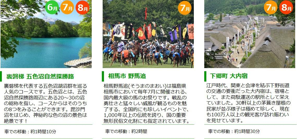 福島観光【夏】2
