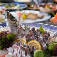 絶品☆大分を代表する魚《関アジ姿造り》会席プラン【ひょうたん温泉券付き】