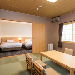 客室温泉内風呂付◆新館・特別和洋室<ユニバーサルデザイン>