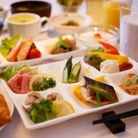 【朝食付プラン】一日で最初のおもてなし☆2021年2月リニューアルの管理栄養士監修メニュー!