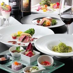 ★さき楽60・リフト券なし★最上階レストランで味わう和×仏×伊の創作イタリアン 1泊2食付