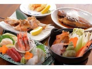 【海のやの定番】 前浜の幸満喫プラン (2食付)