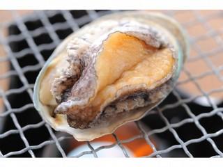 【海のやの定番】 前浜の幸満喫プラン (2食付) +鮑踊焼