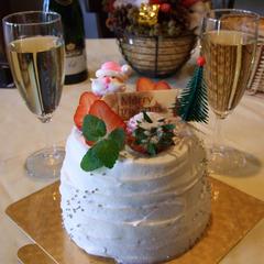 【記念日プラン】朝夕食をダイニングで★大切な記念日・誕生日にケーキ&スパークリングワイン付