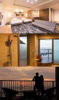 最上階<7階>海一望の露天風呂付き特別室【禁煙】<お部屋食>