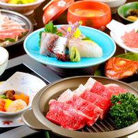 【幼児2名様まで無料】リーズナブルに!金目鯛料理&牛肉鉄板焼き&地魚お造りなど◆ファミリープラン