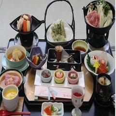 ★憧れのお食事お部屋だし〜貸切風呂無料付カップルプラン〜