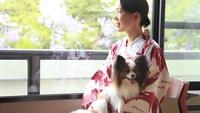 【春夏旅セール】愛犬と一緒に温泉旅行!個室会席でずっと一緒♪≪ペット部屋/2食付≫