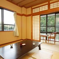 美しい景観を楽しめる和室