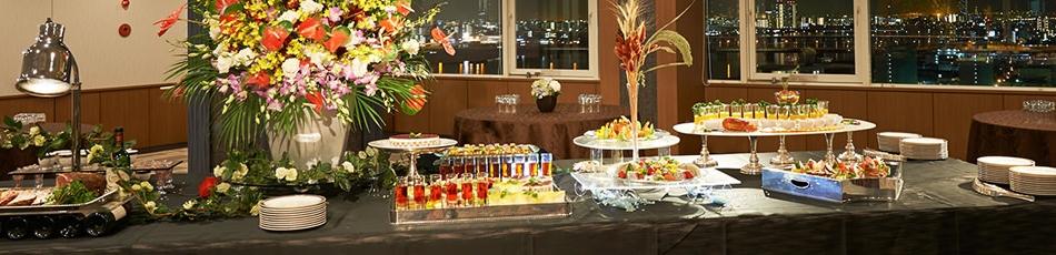 宴会・会議 開放感あふれる眺望の良い6種類の多彩な宴会・会議場を完備。