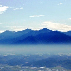 【禁煙】高層階十勝岳ビューツイン《1〜3名》 Wi-Fi対応
