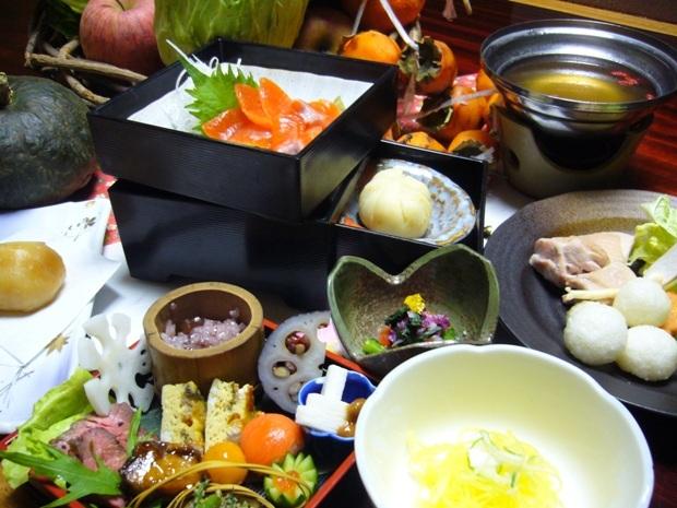 季節の食材を使った和食膳を楽しむプラン
