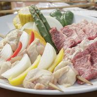 【伊豆高原でBBQ☆】手ぶらで楽々♪他では味わえない温泉でのBBQ!「食材付き バーベキュープラン」