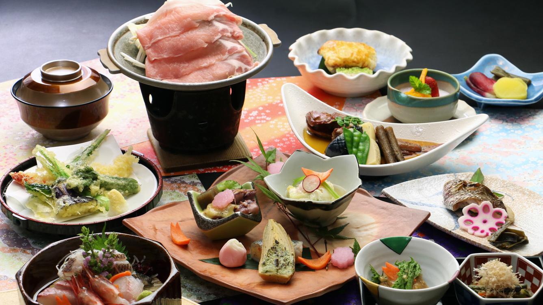 星〜hoshi〜【ブランド豚「純白のビアンカ」&新潟の味覚】一番人気・スタンダードプラン[1泊2食]