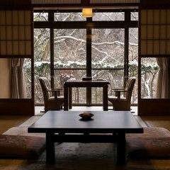 【さき楽30】きらめく新緑やお湯独占♪準特別室に無料アップグレード!◆本格懐石■部屋食
