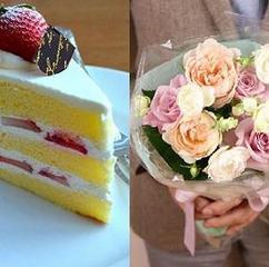 【記念日お祝プラン】お部屋食にケーキとプリザーブドフラワーで特別な時間を/≪極上懐石≫ ■お部屋食