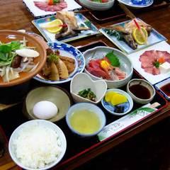 お宿で地元食材を味わう<夕食グレードアップ>【2食付】