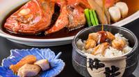 夏休み7/22〜8/31【和室】金目鯛姿煮・伊勢海老・鮑付き 漁師町フルコース会席