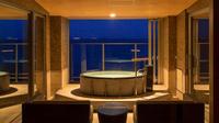 海に浮かぶ絶景の空間!露天付客室でレイトアウト12時まで極上の癒しを