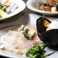 【彩-sai】旬の会席料理・色鮮やかなお料理と当館自慢の湯の華が舞うほど濃厚な温泉を満喫