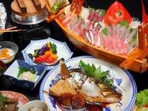 【冬春旅セール】平日ならコチラ⇒活アワビor踊り焼が選べる♪イサキ釜飯×地魚ずくし舟盛り×煮魚
