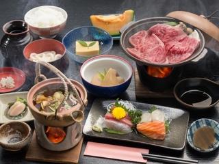 【アップグレード】【1泊2食】〜やわらか和牛グラムアップ鉄板焼き〜現金特価