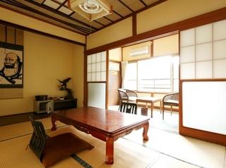 和室または和洋室 お部屋タイプはおまかせ。