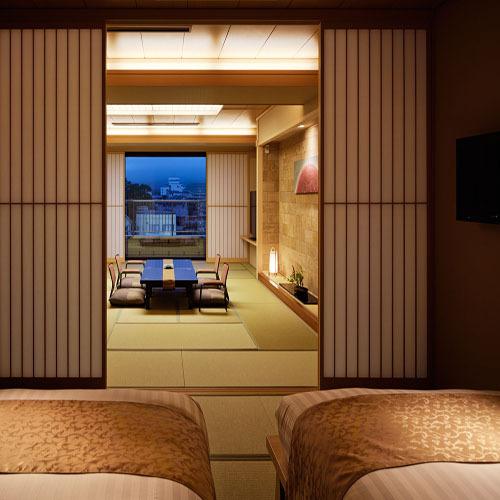 【温泉◆露天風呂付客室】富士山望む和洋...