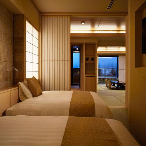 【温泉◆露天風呂付客室】富士山を望む和...