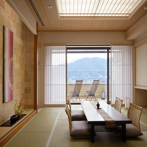 【温泉◆露天風呂付客室】河口湖を望む和...