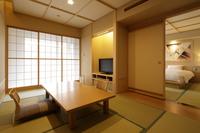 2016年8月リニューアルオープン♪【和洋室】河口湖眺望和室7.5畳+TWナノミストサウナ付客室