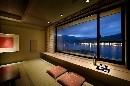 富士山が見える貸切温泉50分ご利用付★お部屋は湖の景色にうっとりな和室♪クリスマスにも★