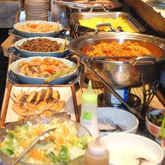 ☆定番人気☆手作りお惣菜 和洋食バイキング!1泊朝食付きプラン