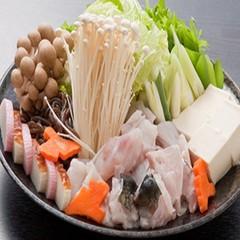 【大感謝SALE】白子焼き・魚醤焼がついて更に大満足!■デラックスふぐ会席■