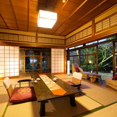 """◆桜・泉灘◆『たおやかな時』を刻む、一番人気の""""庭園側客室"""""""