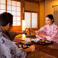 ■1泊2食◇18時からチェックインOK■ お好きな会席を選べて満足♪ お食事重視の方へ◎