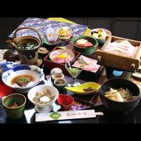 *八幡平ポークのやわらか蒸篭蒸し&選べる鍋会席◆きりたんぽ鍋or百年味噌仕立て海鮮鍋◆