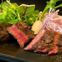 【信州牛の鉄板焼きコースは1日8席限定】牛フィレ&牛サーロイン人気部位食べ比べ+50平米以上の客室