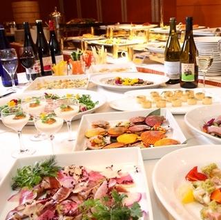GWの軽井沢、夕食はファミリーブッフェで楽しい時間