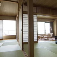 w:【東館】全室二間続きのゆったり過ごせる離れ客室/海眺望