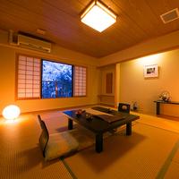 【桜】源泉かけ流し露天風呂付の和室(10畳)【禁煙部屋】