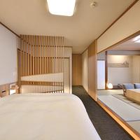 【特別室:憩】源泉かけ流し貸切風呂付の和洋室【禁煙部屋】
