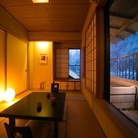【松】源泉かけ流し露天風呂付の和室(8畳)【禁煙部屋】