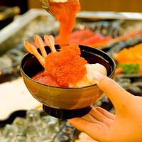【GW★4/28〜5/6】道産食材満載和洋70品ビュッフェと源泉掛け流し美白の湯を堪能!