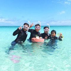 【はての浜ツアー×ネット限定お得】キラメク青い海と空★極上の楽園!無人島を満喫(朝食付)