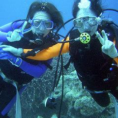 ≪体験ダイビング≫気分はイルカ♪南国の海を泳ごう!!