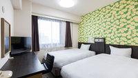 『禁煙』ツインルーム 15〜17平米 ベッド120×200