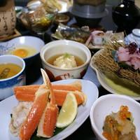 【食前酒&貸切風呂付♪ズワイガニプラン】ちょっぴり贅沢な味覚プラン<2食付>
