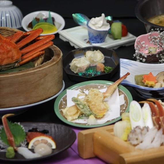 【ご夕食は蟹パック♪2食付きプラン】